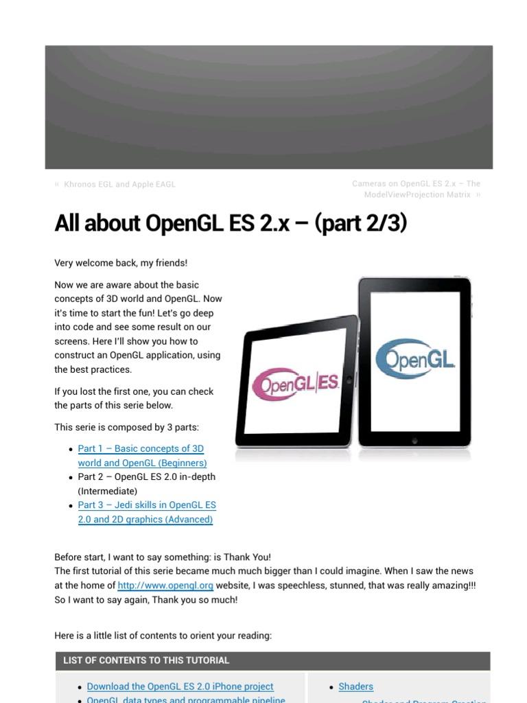 opengl es download