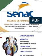 MAT_APOIO_-_SELEÇÃO_DE_FORNECEDORES_13_MAR_2013