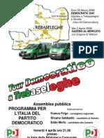 Manifesto Politiche PD di Trebaseleghe
