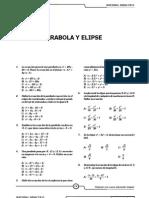Elipse Y Parabola