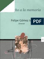 Felipe Gomez Isa- El derecho a la memoria