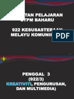 D Penggal 3A Penulisan Kreatif