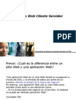 2009. 01 Arquitectura Cliente Servidor Web