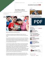 Chávez una revolución democrática _ Muerte de hugo Chávez _ ELESPECTADOR