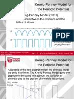 Kronig+Penney++Model