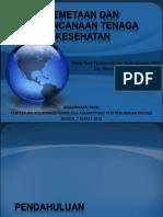 2013.03.07 Pemetaan & Perencanaan Nakes Pusren