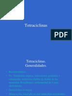 Antibioticos 6. Tetraciclinas