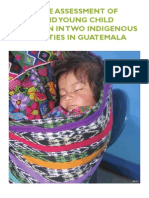 Formative Assessment of Infant and Young Child Nutrition in Guatemala