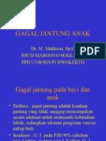 GAGAL JANTUNG ANAK
