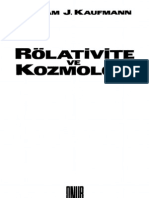 William Kaufmann Rölativite ve Kozmoloji