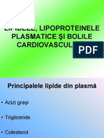 Clinica Lipidele, Lipoproteinele Plasmatice Bolile Cardiovasculare.stud.