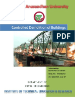 Controlled Demolition of Buildings