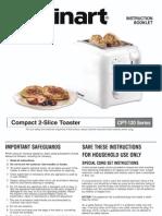 Cuisinart Toaster - CPT-120 Series