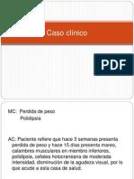 Caso clínico diabetes 2