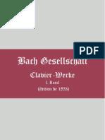 03.Clavier Werke I Johann Sebastian Bach