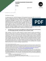 DEC Letter April 24 2013