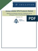 Frost & Sullivan Global Mobile VPN Products Market