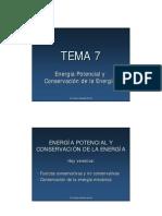 Fisica I Tema 7
