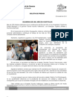 29/04/11 Germán Tenorio Vasconcelos FESTEJAN DÍA DEL NIÑO EN HOSPITALES