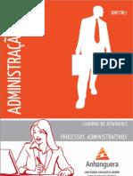 Cead 20131 Administracao Pr - Administracao - Processos Administrativos - Nr (a2ead237) Caderno de Atividades Impressao Adm3 Processos Adm