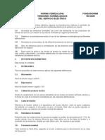 Norma Venezolana de Tensiones Normalizadas 159 - 2005