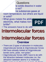 Intermolecular Forces 3