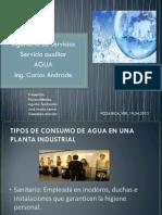Agua Como Servicio Auxiliar