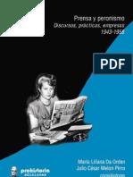 Prensa y Peronismo Trabajadores de La Pluma - James Cane