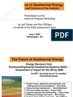 The Future of Geothermal Energy (MIT-2006)