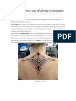A arte indígena e sua influência na tatuagem