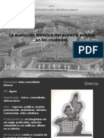 La Evolucion Historica Del Espacio Publico en Las Ciudades
