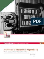 Historia de la Televisión Argentina