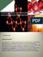Grupo 2 - Puntos Críticos y Estructuras Cristalinas según su Temperatura