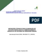 Instruções Técnicas Projetos de Drenagem - 1ª. versão _(1_)
