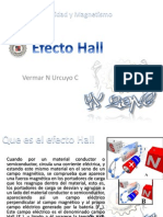Efecto Hall Vx 2011