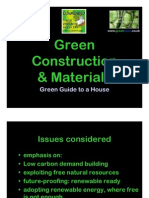 16590478 Green Construction Materials Presented to Architects CPD