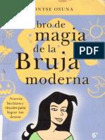 Libro Bruja Modern A