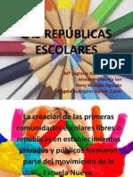 PPT REPUBLICAS ESCOLARES