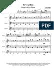 Green Bird for Guitar Quartet