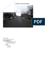 Bellingham, Wa, E. Holly to E. Maple Street Design, Vehicles, Transit, and Parking