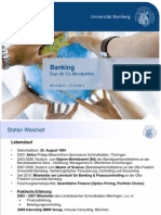 Support S. Weisheit - 2011 Banking