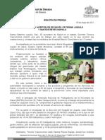 03/05/11 Germán Tenorio Vasconcelos recorre Gtv Hospitales de Juquila y Reyes Nopala