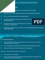Ch III Nonverbal Communication III