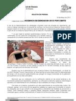 18/05/11 Germán Tenorio Vasconcelos reduce Sso en 85 Por Ciento Casos de Dengue