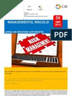 56 - Managementul riscului