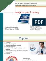 Finantarea Prin Leasing MAPPR