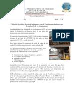 Utilización de residuos de aceite de palma y una cepa de Pseudomonas alcaligenes para la producción de un biosurfactante