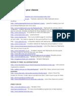 Websites for Foundation Stage