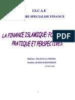 La Finance Islamique Fondement, Pratique Et Perspectives