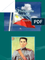The Philippine Presidents
